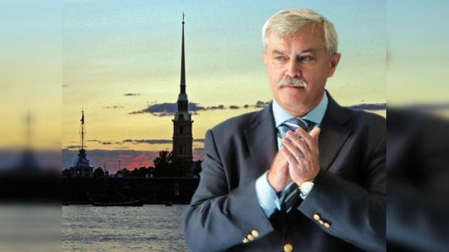 Poltávchenko se perfila como nuevo gobernador de San Petersburgo