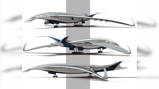 La musa de la aeronáutica tiene plumas