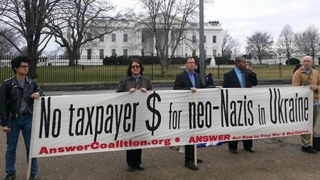 Estadounidenses inician una campaña contra la ayuda económica a Ucrania