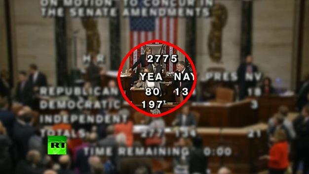 Video: Una taquígrafa arremete contra los masones en el Congreso de EE.UU. en plena votación