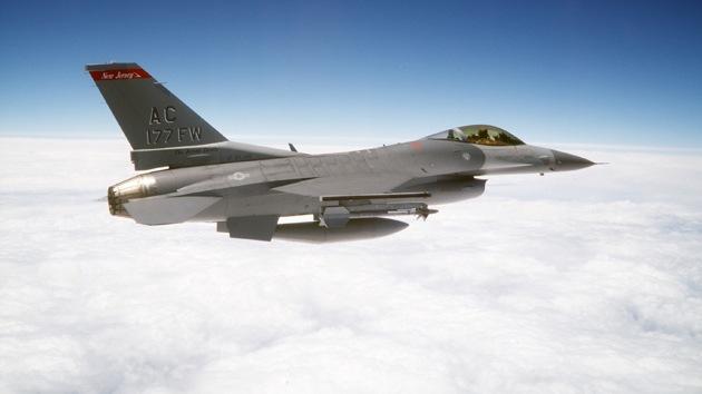 Un avión de combate de EE.UU. se estrella en aguas territoriales rusas
