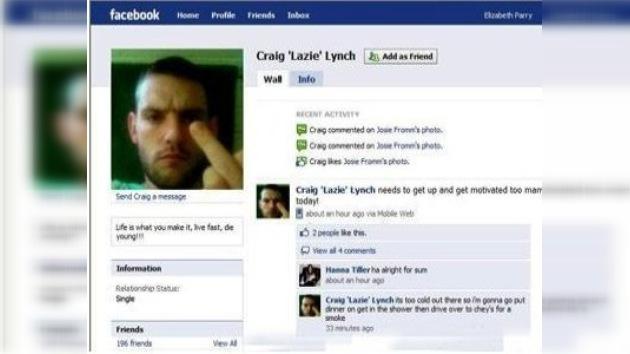 """La policía británica captura al """"fugitivo de Facebook"""""""