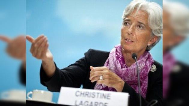 Lagarde insta a Europa y EE. UU. a ser más activos