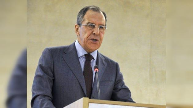 Lavrov: La información sobre las víctimas en Libia debe ser comprobada