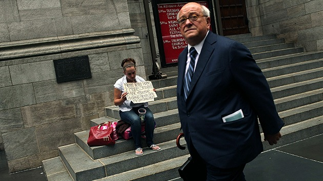 Informe: El 1% posee el 46% de la riqueza
