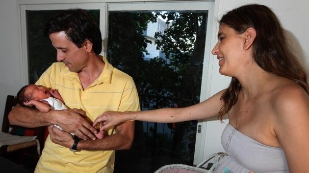 Una mujer argentina da a luz después de una operación de trasplante cardiaco