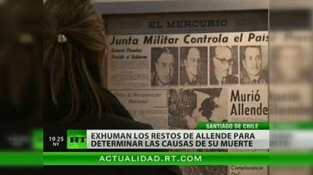 Exhuman los restos de Salvador Allende para esclarecer las causas de su muerte
