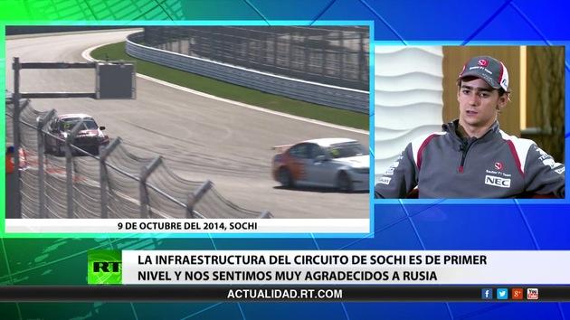 Entrevista con Esteban Gutiérrez, piloto mexicano de Fórmula 1