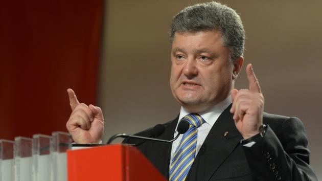 """""""Poroshenko representa a una oligarquía internacional, no al pueblo ucraniano"""""""