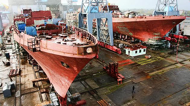 Rusia asigna más de 40 000 millones de dólares a la construcción naval