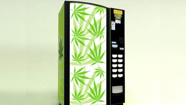 La Policía de Nueva Zelanda confisca una máquina expendedora de marihuana