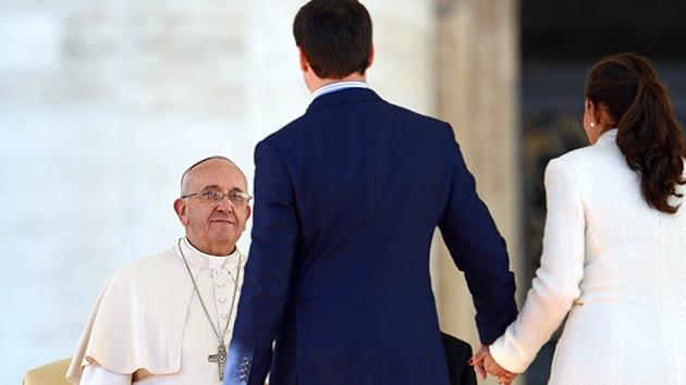 """""""Vivir juntos es un arte"""", y otras frases del papa Francisco destinadas a los enamorados"""