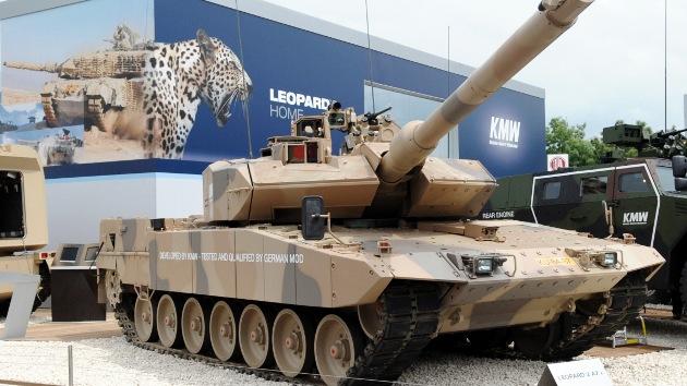 Catar negocia la compra de 118 carros de combate alemanes