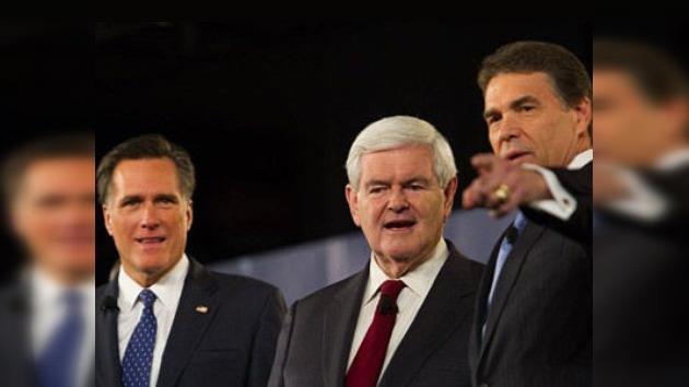 Los candidatos republicanos 'desenfundan' su arsenal de polémicas en la lucha preelectoral