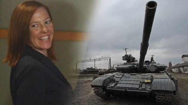 Un exasesor de Reagan cuenta por qué Jen Psaki no ve los crímenes de Kiev