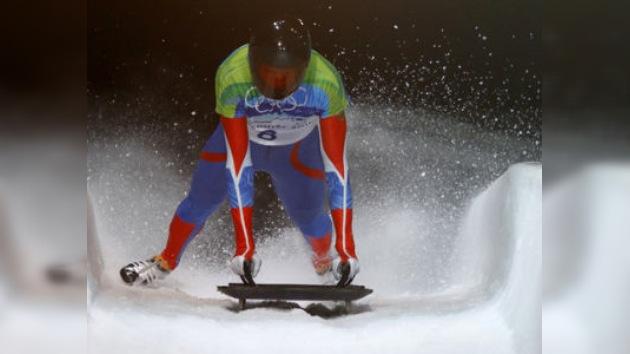Alexándr Tretiakov lidera de la Copa del Mundo de skeleton