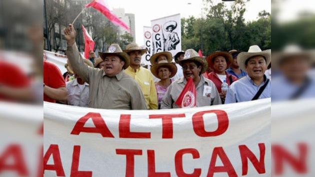 Millones de agricultores mexicanos 'quebrados' por el TLC
