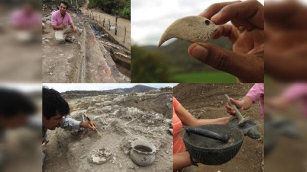 Dos santuarios de hace 4 mil años descubiertos en basurero peruano
