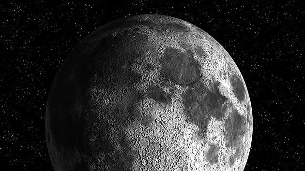 Descubren en la Luna rastros de otro mundo