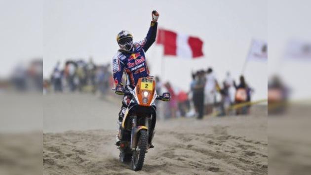 Finaliza Dakar 2012: De Rooy adelanta a los Kamaz, Depres gana a Coma