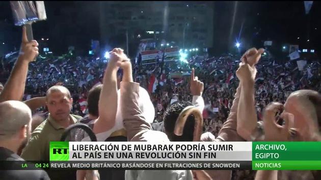 La liberación de Mubarak podría sumir a Egipto en una revolución sin fin