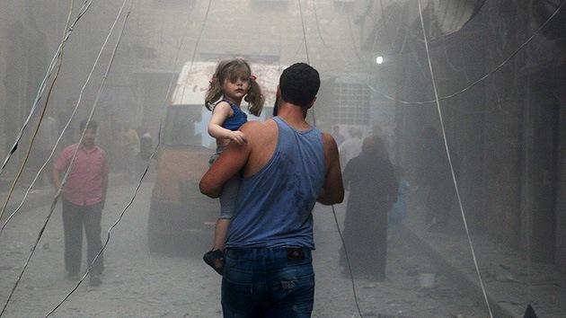 Milicianos atacan con morteros un centro de negocios en Damasco tras la investidura de Al Assad
