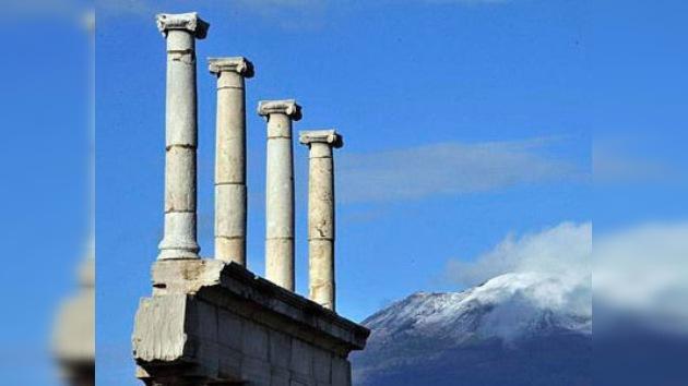Nuevo derrumbe en Pompeya