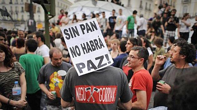 La 'indignación' española: Día II