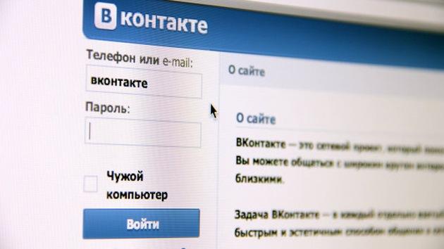 La rusa Vkontakte entra en el 'top ten' de las mayores redes sociales del mundo