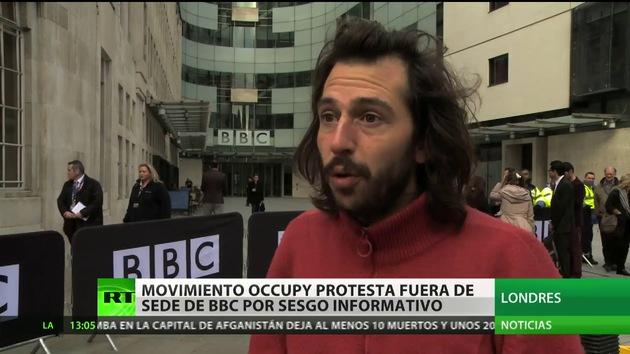 'Ocupa BBC': Londres se suma a la protesta contra el control informativo