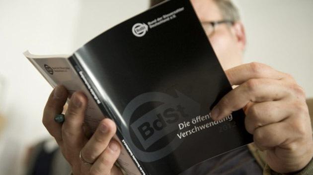 Alemania: el 'libro negro' del derroche público sonroja cada año al Estado