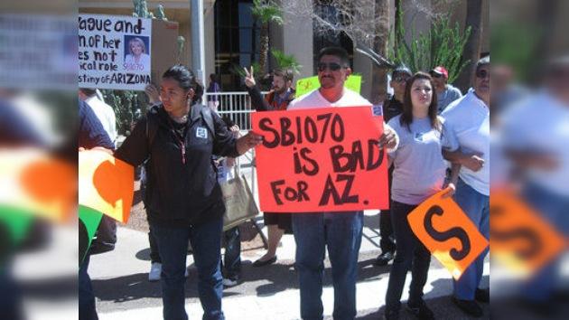 La ley anti-inmigrante de Arizona entra en campaña