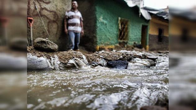 Las fuertes lluvias dejan miles de damnificados en el norte de Venezuela