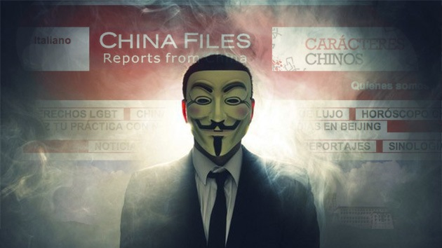Anonymous 'hackea' un sitio de periodistas latinoamericanos sobre China