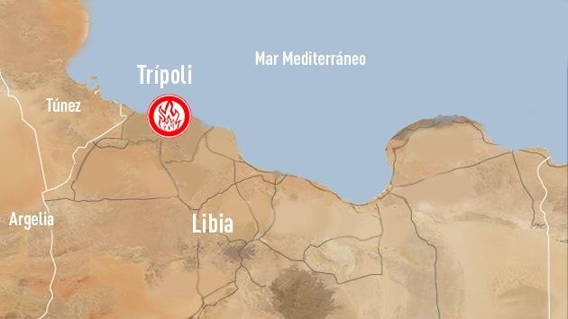 Atacan la sede de la Inteligencia libia