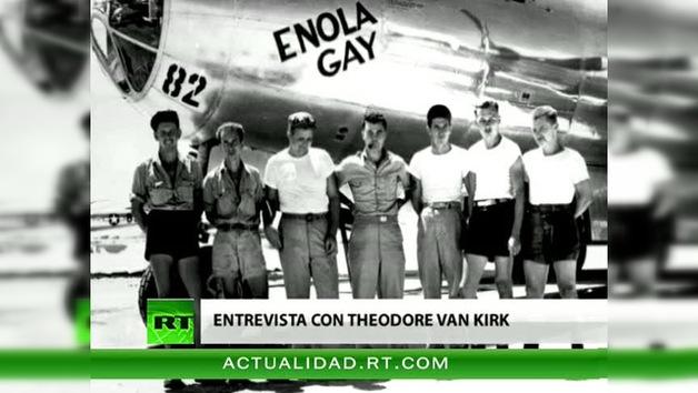 Entrevista con Theodore Van Kirk, el último superviviente de la tripulación del bombardero Enola Gay