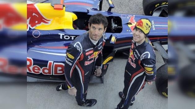 Red Bull presenta su nuevo RB7, el monoplaza para la temporada 2011