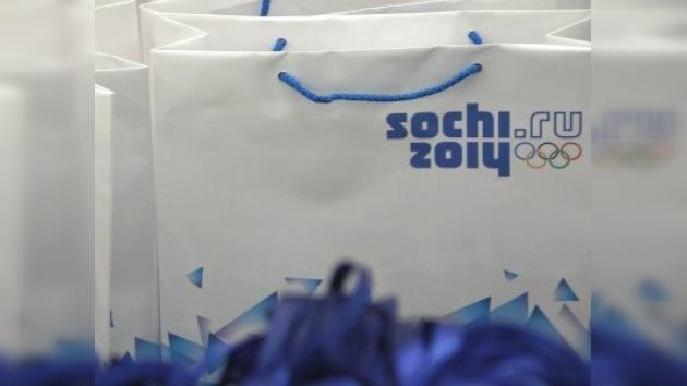 Sochi planea ganar dinero con la venta de las mercancías olímpicas