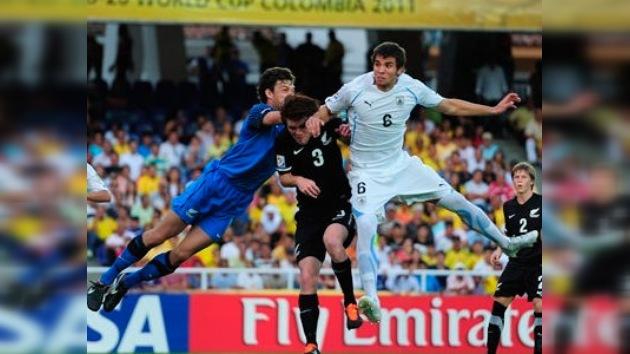 Uruguay arrincona a Nueva Zelanda en el Mundial Sub-20, pero no pasa de igualar 1-1