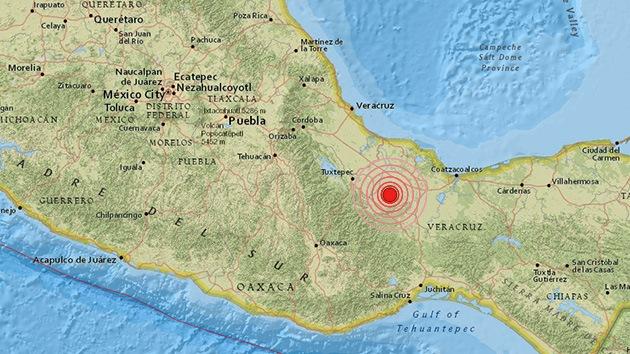 Un fuerte sismo de magnitud 6,4 sacude México