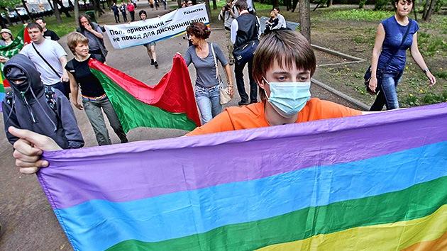 La Corte de Moscú ratifica la prohibición por 100 años de las marchas del 'orgullo gay'