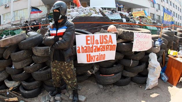 """""""La propaganda mediática en EE.UU. sobre Ucrania adquiere dimensiones orwellianas"""""""