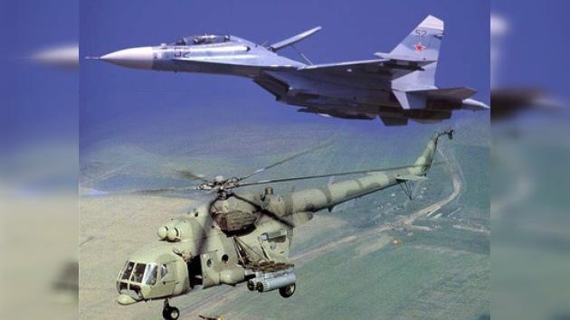 Rusia aumenta las ventas de sus aviones y helicópteros