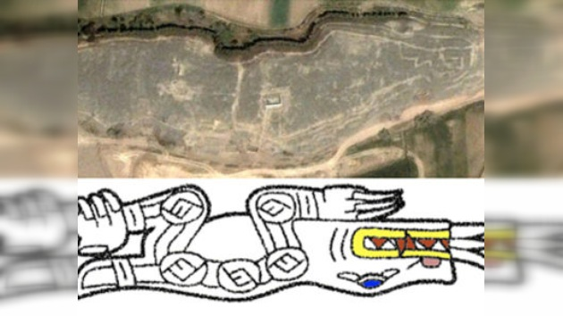 Gracias a Google Earth se descubren en Perú unos geoglifos prehistóricos