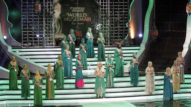 Fotos: Miss Musulmana, una réplica islámica al concurso Miss Mundo