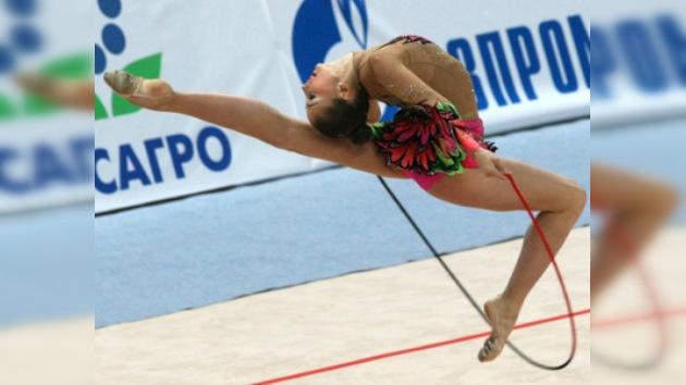 Kondrákova conquista el primer oro en el Mundial de Gimnasia Rítmica
