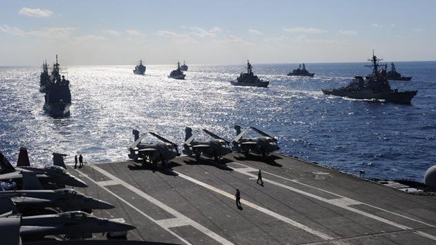 Siria y Hezbolá atacarán los buques de EE.UU. en caso de intervención