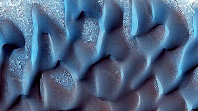 Descubren dunas barján en Marte gracias a nuevas imágenes