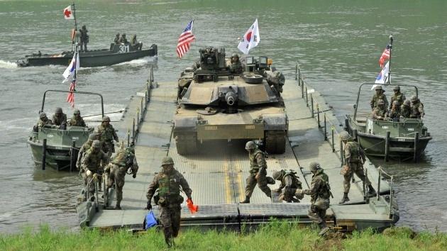 """Corea del Sur y EE.UU. crearon un plan militar ante la """"amenaza nuclear"""" de Pyongyang"""