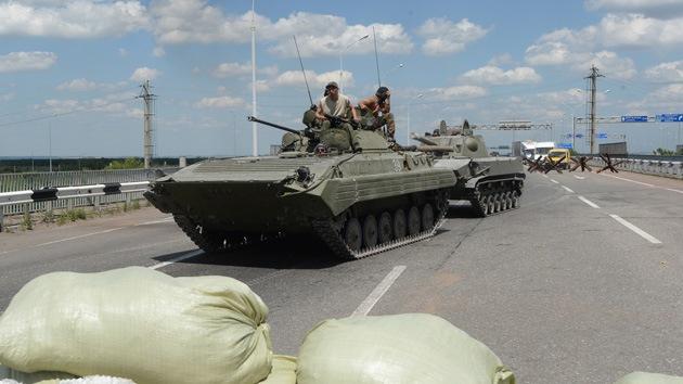 Ucrania: Se registran explosiones y disparos en el centro de Donetsk
